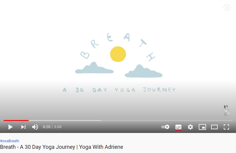 Breath: a 30 day yoga journey