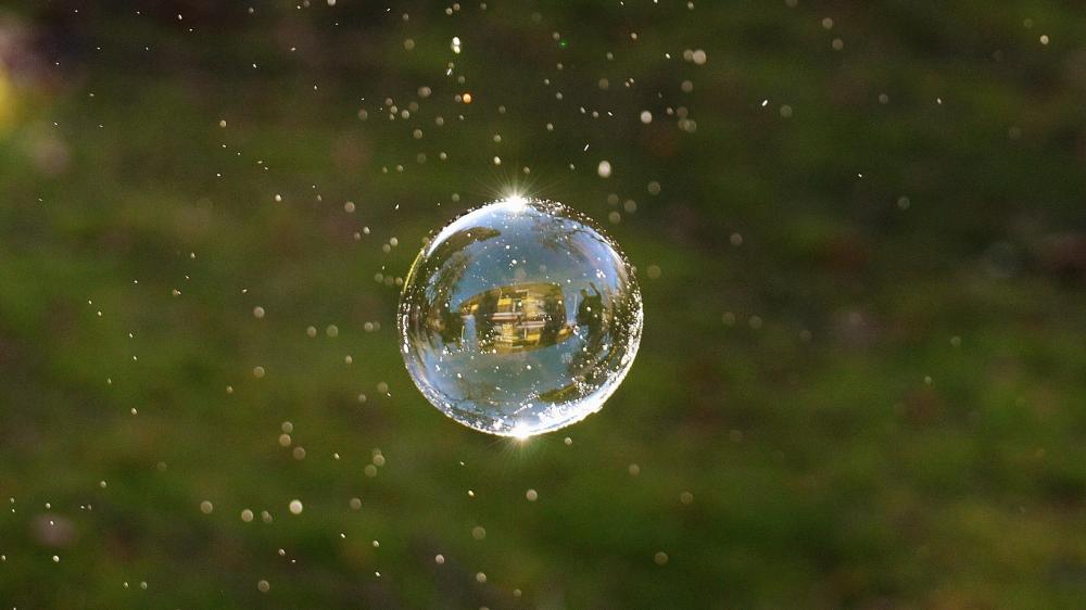 Een bubbel