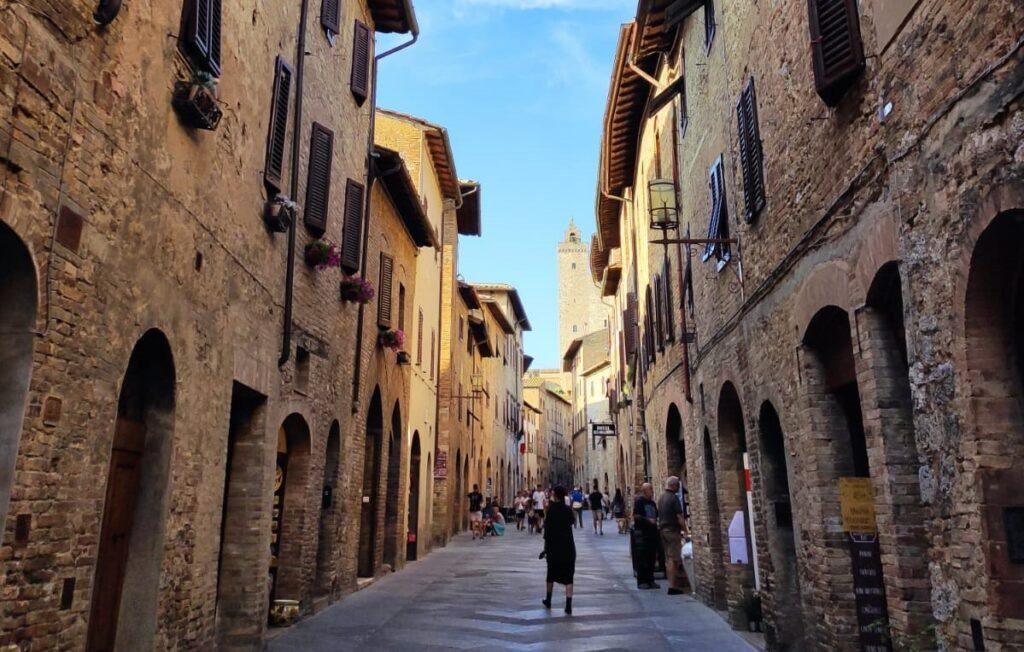 Straat in Italië