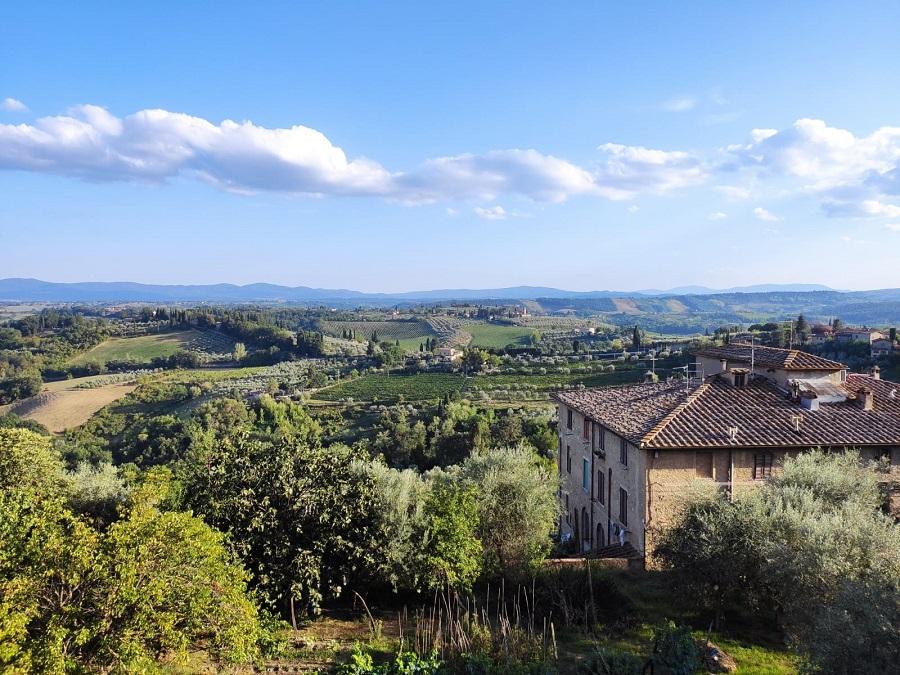 Uitzicht in Italie